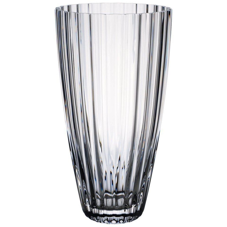 VILLEROY & BOCH Lilienvase 280mm »Light&Flowers clear« in Weiss