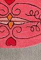Kinderteppich »Lotti Queen«, SMART KIDS, rund, Höhe 9 mm, Katzen Prinzessin, Konturenschnitt, Bild 6