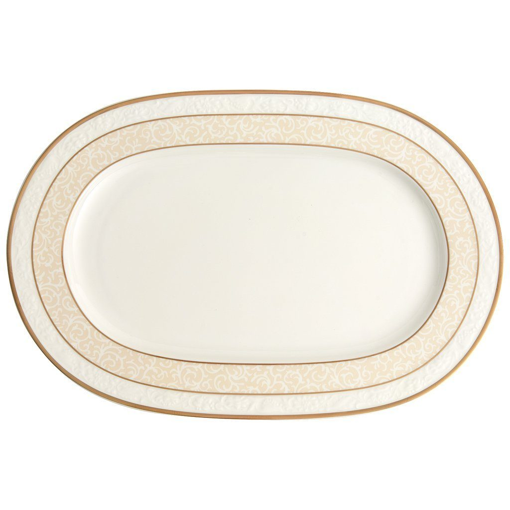 VILLEROY & BOCH Platte oval 35cm »Ivoire«
