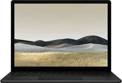 Microsoft Surface Laptop 3 i5 13,5 8GB / 256GB matt schwarz Notebook (34 cm/13,5 Zoll, Intel Core i5, Iris Plus Graphics, 256 GB SSD)