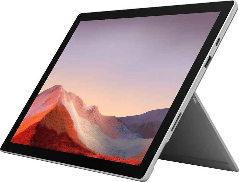 Microsoft Surface Pro 7 i5, 8GB / 256GB Platin Convertible Notebook (31 cm/12,3 Zoll, Intel Core i5 1035G4, Iris Plus Graphics, 256 GB SSD, Intel© Iris Plus-Grafik)