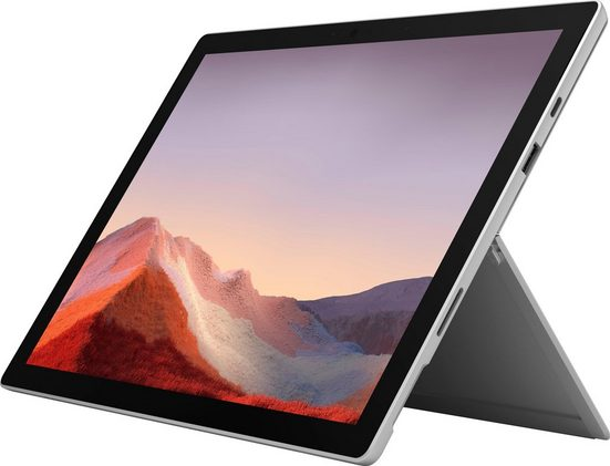 Microsoft Surface Pro 7 i7, 16GB / 512GB Platin Convertible Notebook (31 cm/12,3 Zoll, Intel Core i7, Iris Plus Graphics, 512 GB SSD, Intel® Iris™ Plus-Grafik)