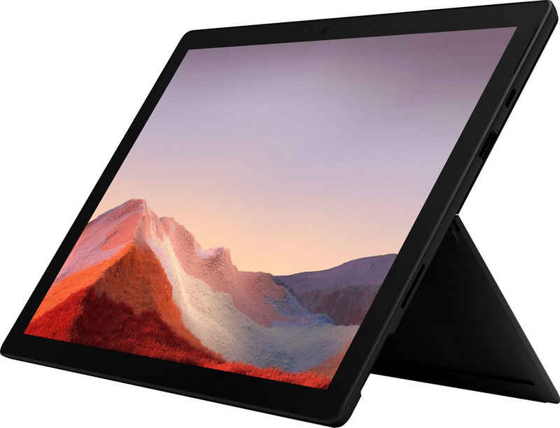 Microsoft Surface Pro 7 - 8GB / 256GB i5 Schwarz Convertible Notebook (31 cm/12,3 Zoll, Intel Core i5 1035G4, Iris Plus Graphics, 256 GB SSD, Intel® Iris™ Plus-Grafik)