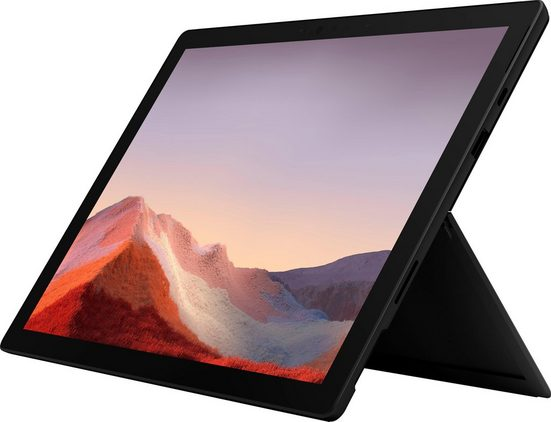 Microsoft Surface Pro 7 i7 - 16GB / 512GB matt schwarz Convertible Notebook (31 cm/12,3 Zoll, Intel Core i7, Iris Plus Graphics, 512 GB SSD)