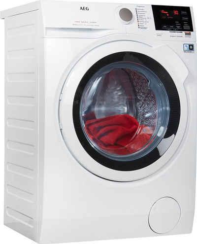 AEG Waschtrockner Serie 7000 LAVAMAT KOMBI L7WB65684, 8 kg, 4 kg, 1600 U/min, Energieeffizienzklasse Wasch-Zyklus C, mit DualSense für schonende Pflege