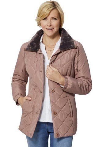 CLASSIC BASICS Куртка с vorteilhaft verlaufender Raut...