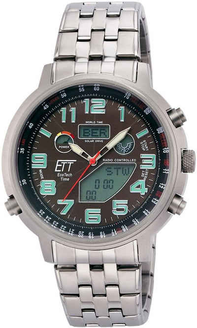 ETT Funk-Multifunktionsuhr »Hunter II, EGS-11374-50M«
