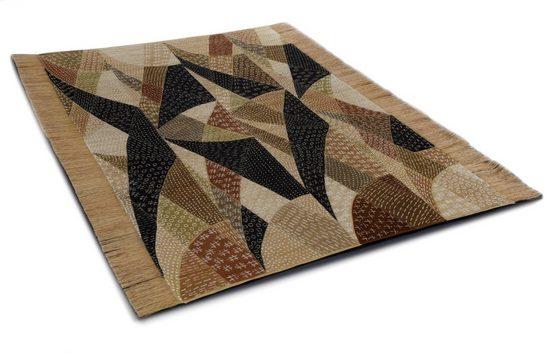 Orientteppich »Chiya Tiama 4«, DIE HAUSKUNST, rechteckig, Höhe 4 mm, Flachgewebe, handgewebt