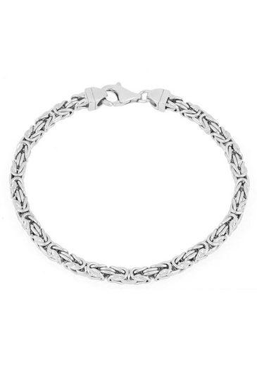Firetti Königsarmband »4,0 mm breit, diamantiert, quadratisch«