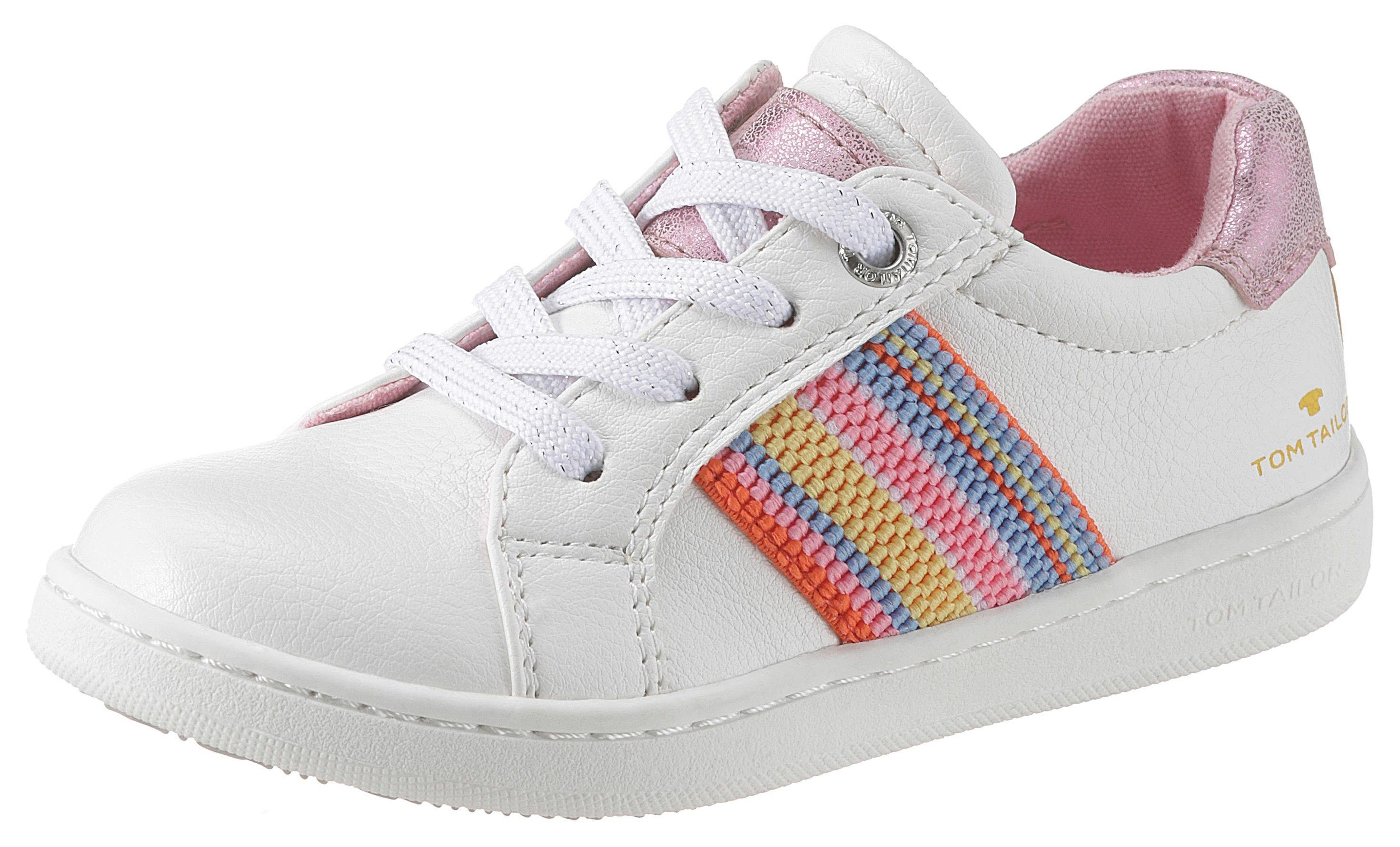 TOM TAILOR Sneaker mit Regenbogenstreifen kaufen | OTTO