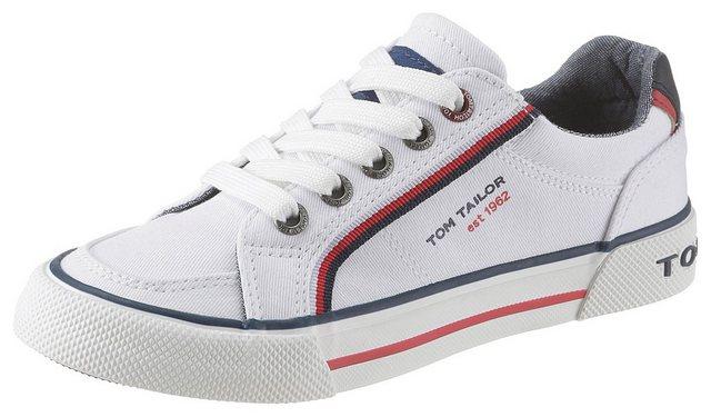 TOM TAILOR Sneaker mit Markenschriftzug