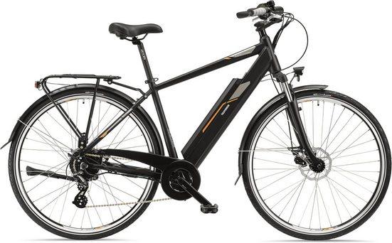 Telefunken E-Bike »XC921 Expedition«, 8 Gang Shimano Acera Schaltwerk, Kettenschaltung, Heckmotor 250 W