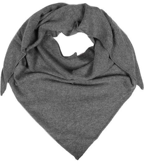 Zwillingsherz Dreieckstuch Tuch aus 100% Kaschmir, wärmend