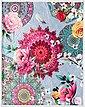 Plaid »Siara«, hip, mit Mandalas und Rosenblüten, Bild 1