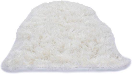 Fellteppich »Mia«, Gino Falcone, fellförmig, Höhe 75 mm, Kunstfell, besonders weich durch Microfaser, Wohnzimmer