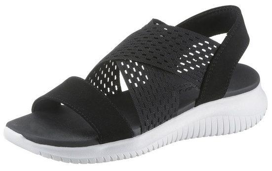 Skechers »Ultra Flex - Neon Star« Sandale mit Yoga Foam