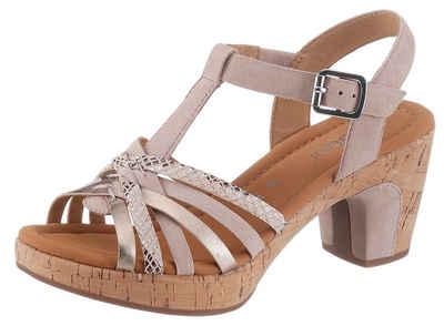 Damen Sandalen Beige Gabor Sandaletten Online Kaufen