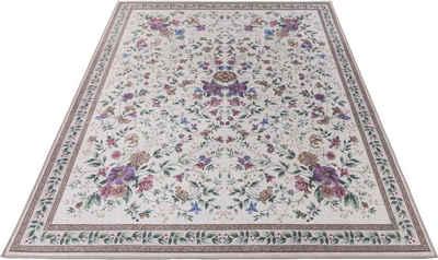 Orientteppich »Viola GF045«, Gino Falcone, rechteckig, Höhe 3 mm, in Pastell Farben, Wohnzimmer