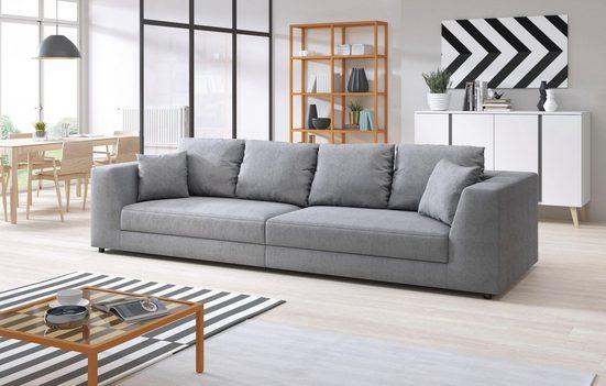 INOSIGN Big-Sofa »Amiya«, mit Zierkissen