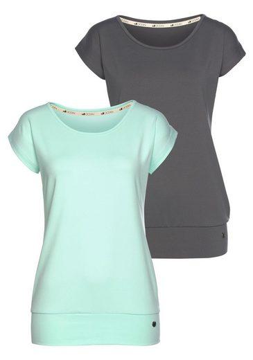 Ocean Sportswear Yoga & Relax Shirt »Soulwear - Essentials Yoga Shirts« (Packung, 2er-Pack)