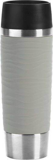 Emsa Thermobecher »Travel Mug Waves Grande«, Edelstahl, 500 ml Inhalt