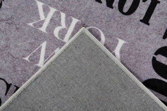 Teppich »Städteteppich«  Andiamo  rechteckig  Höhe 5 mm