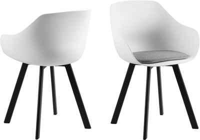 andas Stuhl »Tanja« (Set, 2 Stück), mit einem schönen weichen Sitzkissenpolster, Sitzhöhe 50 cm