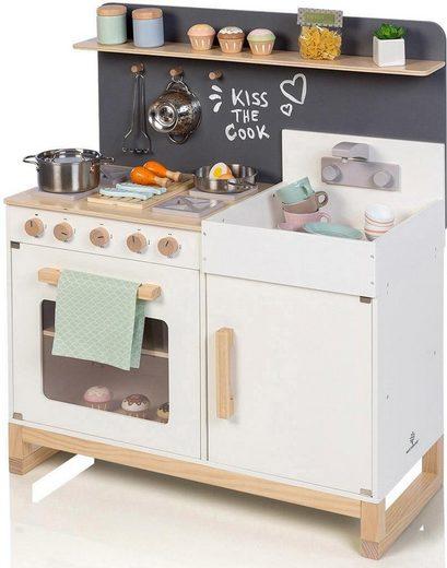 MUSTERKIND® Spielküche »Linum, weiß« Holz