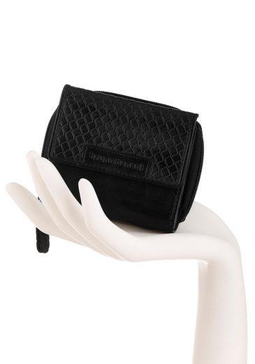 Bruno Banani Geldbörse  aus Leder mit schöner Perforation