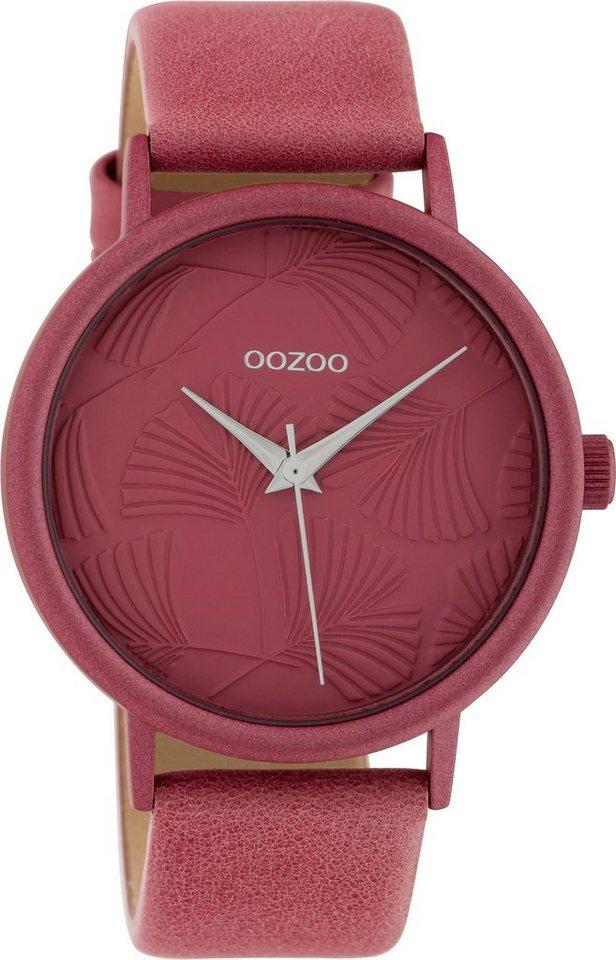 Damen OOZOO Quarzuhr »C10396« rot | 08719929015058