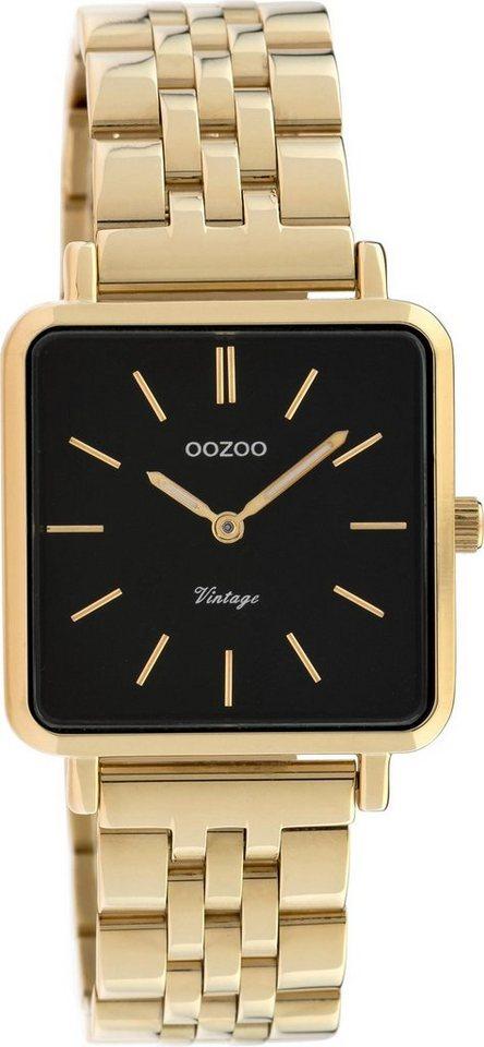 Damen OOZOO Quarzuhr »C9957« gold | 08719929012835