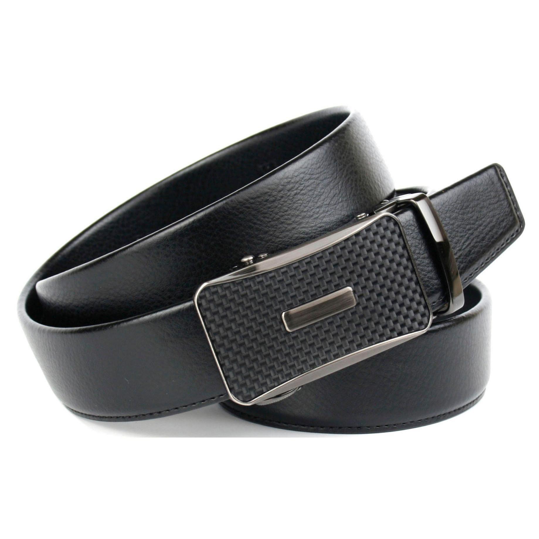 Anthoni Crown Ledergürtel Umgeschlagener Gürtel mit Schließe in Flecht Design online kaufen | OTTO