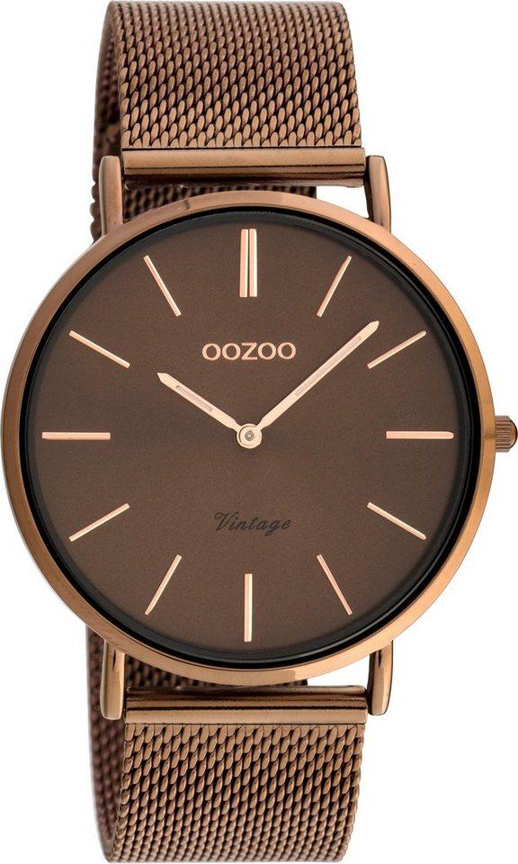 Damen OOZOO Quarzuhr »C20004« braun | 08719929015935