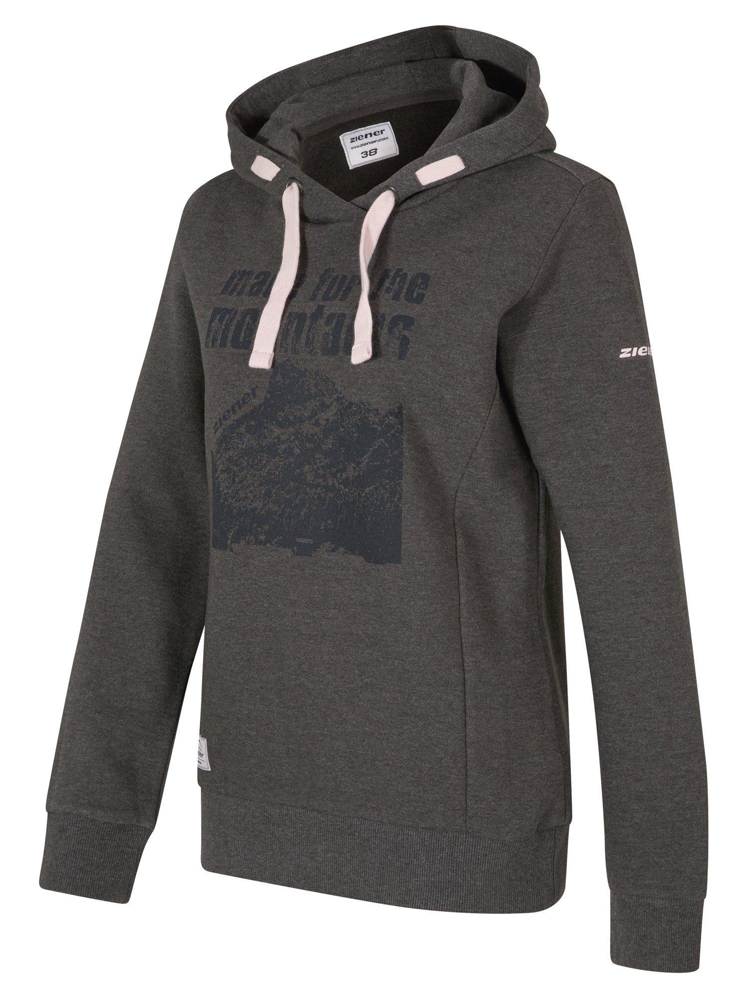 Stickerei schwarz Hoodie Gr 34 bis 44 Jacke Heine Sweatshirtjacke m