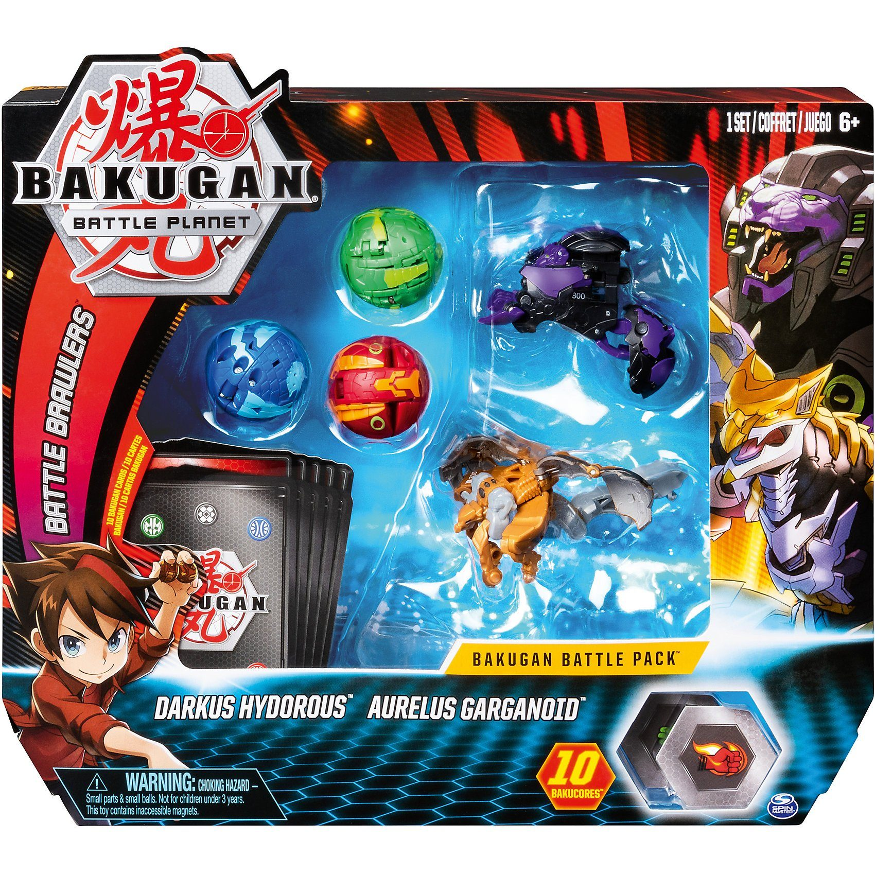 Spin Master Bakugan Basic Battle Planet sortiert
