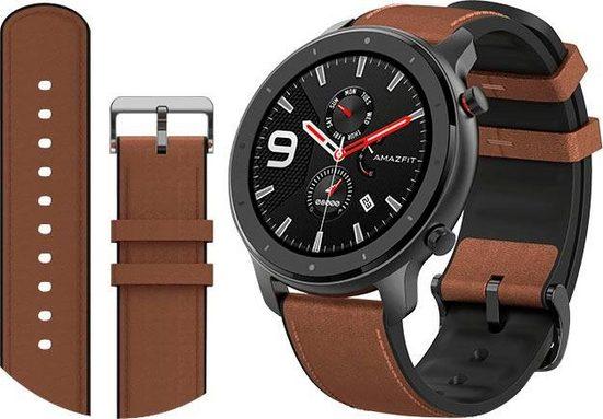 Amazfit Amazfit GTR 47mm Aluminum Smartwatch (3,53 cm/1,39 Zoll)