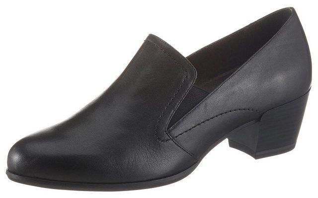 Tamaris »Oceana« Hochfrontpumps mit Stretcheinsatz | Schuhe > Pumps > Hochfrontpumps | tamaris