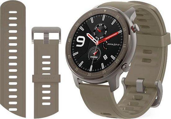 Amazfit Amazfit GTR 47mm Titanium Smartwatch (3,53 cm/1,39 Zoll)