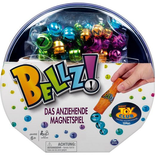 Spin Master Magnetisches Duellspiel Bellz!, Super Toy Club Spiel
