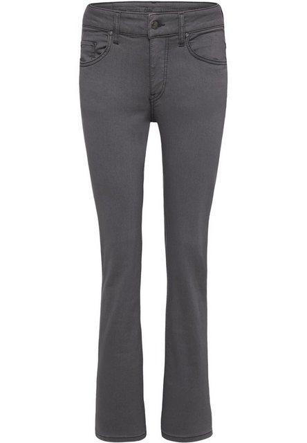 Hosen - MUSTANG 5 Pocket Jeans »Julia« › schwarz  - Onlineshop OTTO