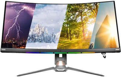 "MSI Optix MPG341CQR Curved-Gaming-LED-Monitor (86,36 cm/34 "", 3440 x 1440 Pixel, UWQHD, 1 ms Reaktionszeit, 144 Hz, VA LED, 3 Jahre Herstellergarantie)"