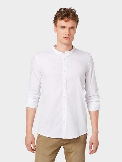 TOM TAILOR Hemd »Hemd mit Stehkragen«