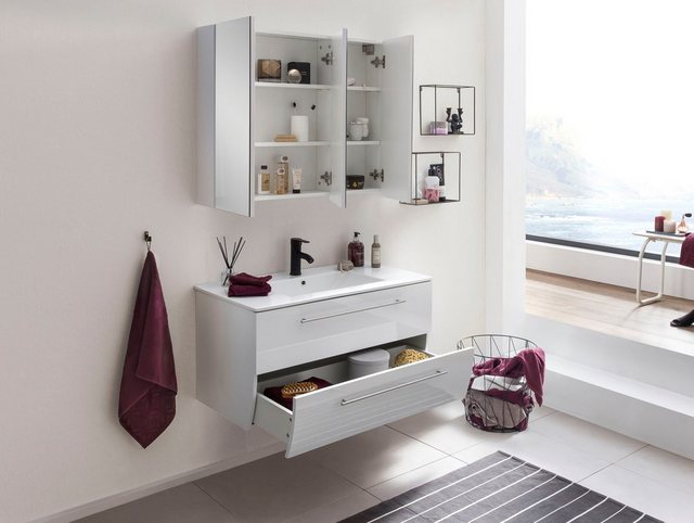 Badezimmer Sets - SalesFever Badmöbel Set »392126«, (2 St)  - Onlineshop OTTO