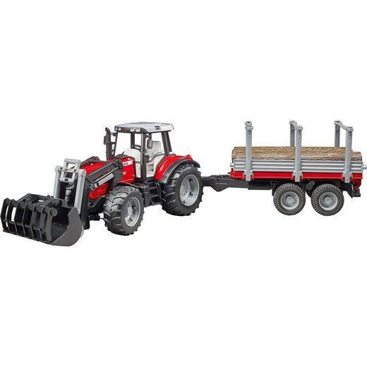 Trak 41cm Massey Ferguson 7480 Frontlader + Hänger