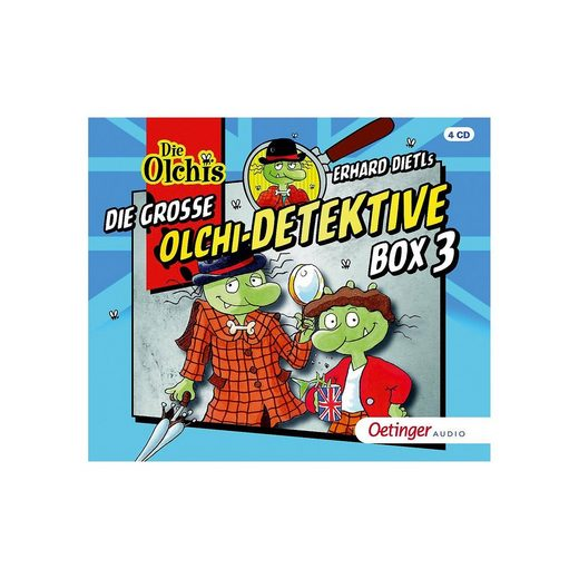 Oetinger CD Die große Olchi-Detektive Box 3 (4 CDs, Folgen 16-19)