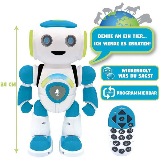 Lexibook® Powerman®JR. Lern-Roboter