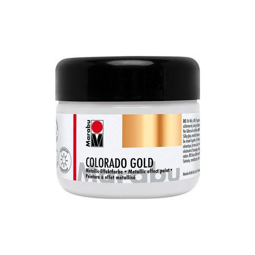 Marabu Colorado Gold, Silber Metallic, 225 ml