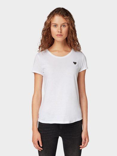 TOM TAILOR Denim T-Shirt »T-Shirt mit Print«