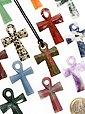 Adelia´s Kettenanhänger »Silberauge Schmuck Stein Anhänger - Kreuz«, Bild 2