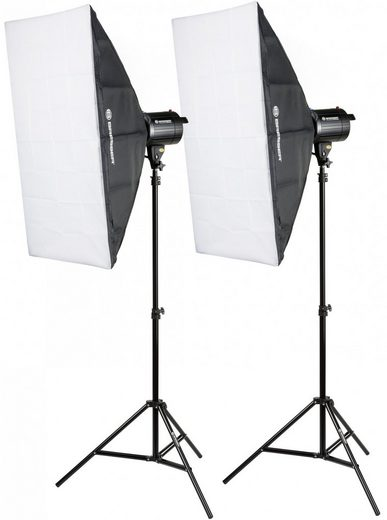 BRESSER Studioblitz »BRM-300AM Studioblitz-Set 2x 300W«